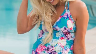 Maternity Swimwear in Floral