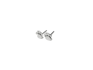 Sterling Silver Puppy Paw Stud Earrings, 925 Sterling Silver Earrings, Tiny Dog Studs, Silver Paws, Silver Jewelry Gifts
