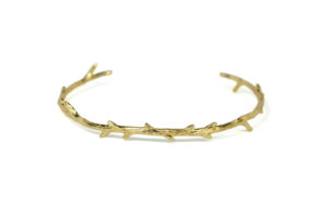 Gold Twig Bangle Bracelet, Adjustable Gold plated Branch Bracelet, Gold Bangles, Delicate Adjustable Cuff, Bridal Jewelry,  Gifts for Her