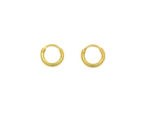 Tiny Gold Hoop Earrings, Small Gold Earrings, 6mm Silver Hoops, Cartilage Hoops , Minimalist Jewelry