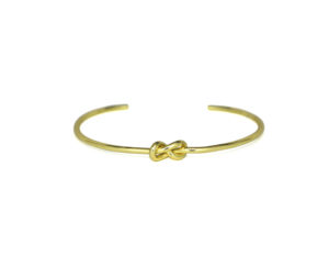 Thin Gold Eternity Knot Cuff Bracelet, Adjustable Gold plated Infinity Love Knot Bracelet, Bridesmaid Bracelet, Gifts Ideas